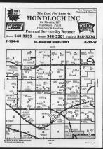 Map Image 007, Stearns County 1989